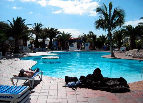 Kanariøyene, her fra Lanzarote, er på topp blant nordmenn som vil reise til varmere strøk i jula.
