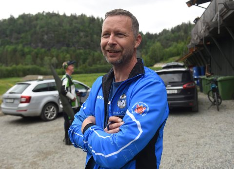 OPTIMIST: Hroar Odden, lederen i Kongsberg skytterlag, håper fortsatt på at Kongsberg kan få arrangere Landsskytterstevnet i 2024. FOTO: OLE JOHN HOSTVEDT