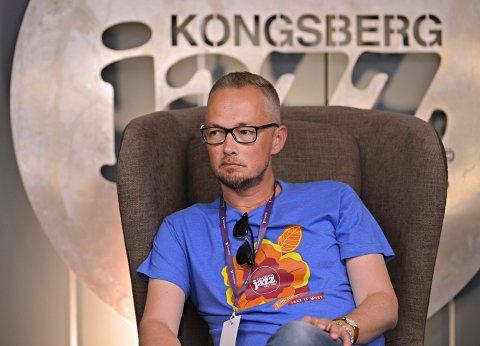 UTFORDRING: Samarbeidet med Kongsberg Gruppen er et dilemma for styreleder Hans Marius Graasvold og Kongsberg Jazzfestival.