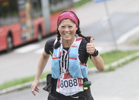SPREK: Marianne Skårung Myrseth er en skikkelig sliter. I helga løp Oslo Ecotrail, har plottet inn flere ultraløp denne sesongen.