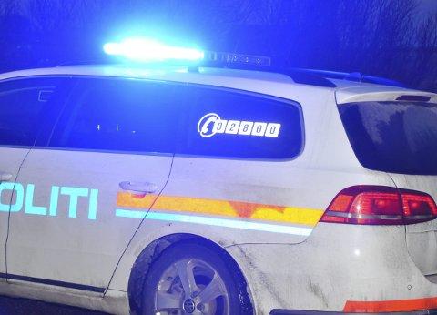 STOPPET: Bilen ble stoppet på Limstrand. Ill.foto: Kai Nikolaisen