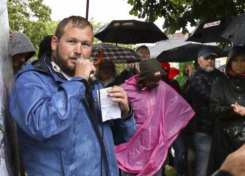 Provokasjon: Eirik Stridsklev Nilsen etablerte en Facebook-gruppe i protest.