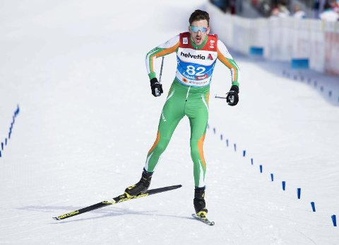 EKSTREM LØYPE: Thomas Hjalmar Westgård ble nummer 32 på skiathlon lørdag, og var irritert over at han ikke klarte ei topp-30-plassering.