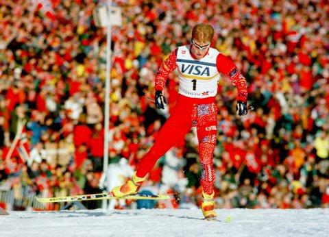 Det var stor folkefest i Trondheim året da Bjørn Dæhlie herjet under VM. Der fikk han med seg tre gull, én sølv og én bronsje. Men hvilket år var det?