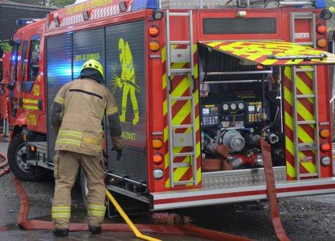 OBRE: Oslo brann- og redningsetat rykket i natt ut til et bolighus i Høgåsveien. Illustrasjonsfoto