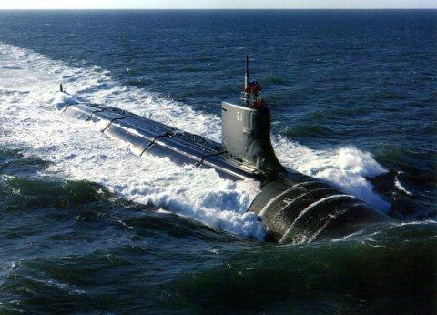 I TROMSØ: Angrepsubåten Seawolf har en prislapp på tre milliarder amerikanske dollar.