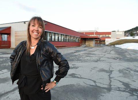 Kopperud-elev: Bodil Jenssen Houg gikk på Kopperud skole i bardommen. I dag er hun mobbeombud i Buskerud Fylke.