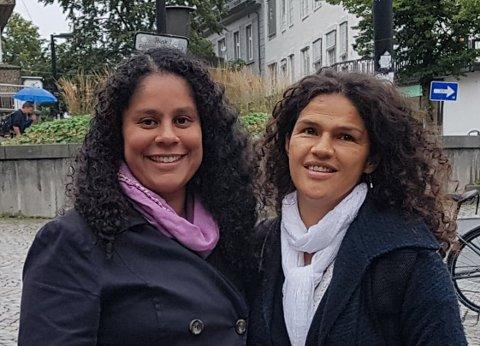 Christina Violeta Thrane Storsve og  Diana Patricia Fynbo jobber for at etteradopsjon skal bli et tydelig prioritert politisk tema.