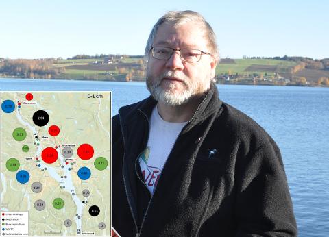 BEKYMRET: Finn Olav Rolijordet synes tallene fra Nivas mikroplastrapport er foruroligende.