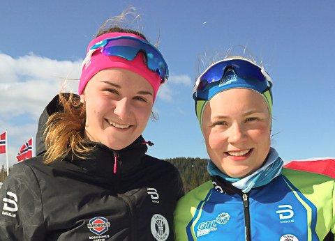 Tuva Johnsen og Dorthe Ballangrud Seierstad ble kretsmestere i junior.