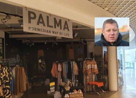 BUDRUNDE: Tord Linnerud (innfelt) vant budrunden om konkursboet til Palma.