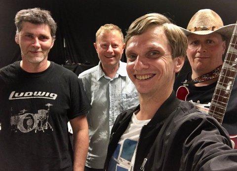 FV: Ronny Løkken, Rune Seim, Rune Bakkelund & Affen Eithrheim