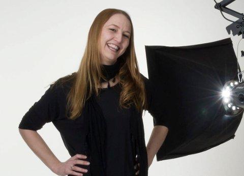 Til VM: Line Loholter tatt ut til landslaget og deltar i VM i fotografering.