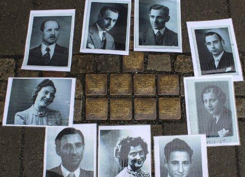 Snublestener: 26. november markeres 75-årsdagen for den største deportasjonen av norske jøder under andre verdenskrig.