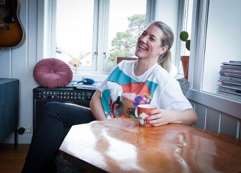 OPTIMIST: Elise Landa gjør suksess som digital rådgiver og foredragsholder.