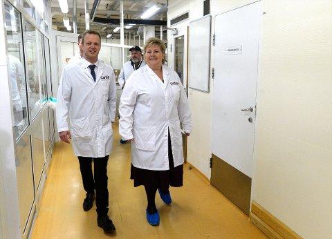 STÅR KLAR: Leif Rune Skymoen og Curida står klare til å bidra i legemiddelmangelen i Norge, men til nå har et samarbeid med det offentlige manglet.