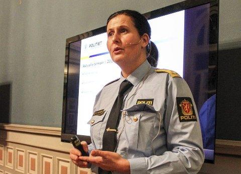 SØKER: Rita Kilvær er en av søkerne i Sør-Øst politidistrikt.