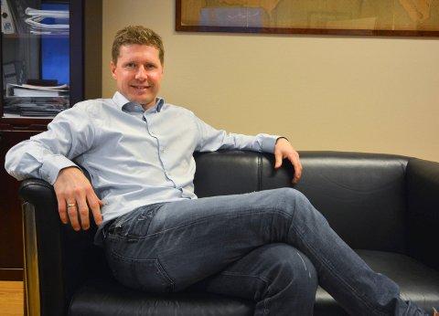 ØPD-sjef Nils-Johan Tufte kom tirsdag med gode nyheter.