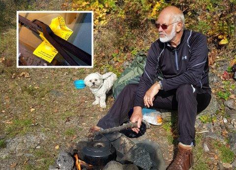 Birger Holmberg reagerer på at Porsgrunn kommune sender parkeringsvakta helt til Skifjell for å skrive bøter så blekket spruter på en lørdag.
