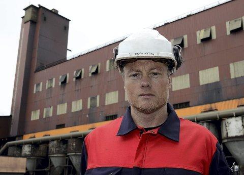 Bjørn Ugedal, administrerende direktør for Ferroglobe Manganese Norway AS.