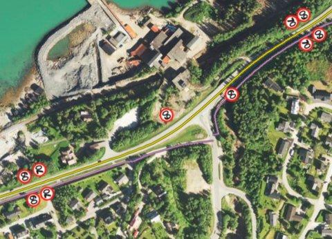 Nå ønsker Statens vegvesen å senke fartsgrensa over Åga-krysset.