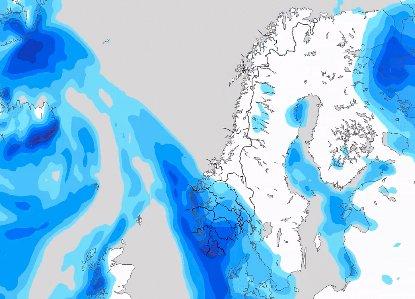 FLOTT HØSTVÆR: neste uke vil Nord-Norge fp det fineste høstværet, mens Sør-Norge får mye bygeaktivitet og vind.
