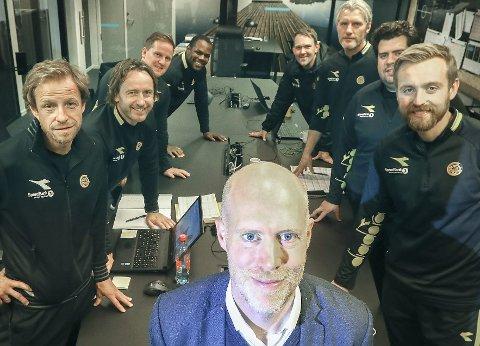 Gregg Broughton er utviklingsleder i Bodø/Glimt. Det er mange som ønsker å jobbe i akademiet til Norges for tiden beste klubb. Foto: Tom Melby