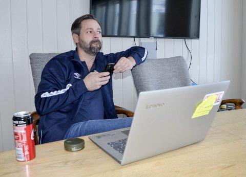 REALIST: Daglig leder i Rana FK, Rune D. Andreassen, er oppgitt over at 3. divisjonlag fortsatt ikke kan trene som normalt.