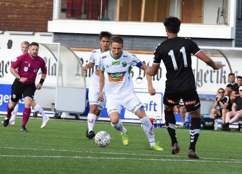 TAPTE: HBK slet mot Tromsø 2 på Alfheim stadion. Bildet er fra en tidligere kamp.
