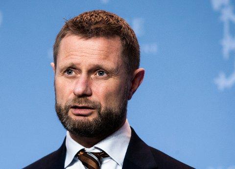 LOVER JULERÅD: Helse- og omsorgsminister Bent Høie (H).