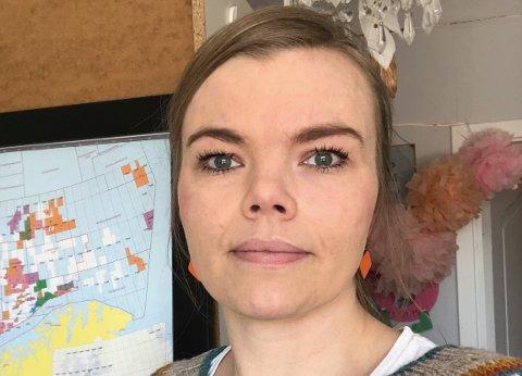 HJEMMEKONTOR: SU-leder Irene Tveiten i Hov barnehage tror mange foresatte tenker på om det muterte viruset har spredt seg til andre avdelinger i barnehagen. Selv valgte hun hjemmekontor fredag. Foto: Privat