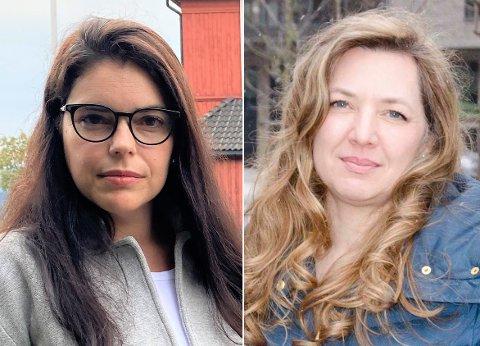 UENIG: Tidligere ansatt Dariane Hanssen (t.v) og daglig leder ved Discovery International School, Heidi Jo Hannisdal er svært uenig rundt måten skolen drives på.