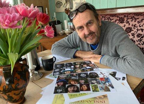 ERFAREN: Egil Nyhus har vært RBs illustratør i 33 år. Tidligere har han tegnet Kaptein Sabeltann og Olsenbanden for frimerker.