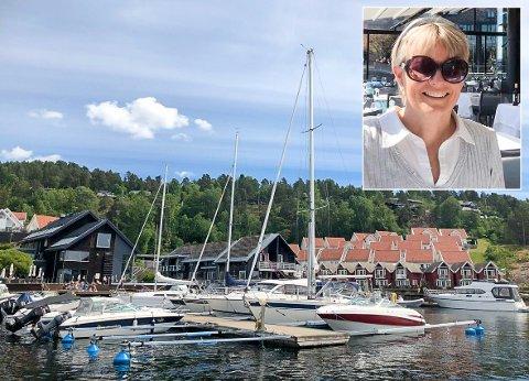 SÅ DET SUSER: Gode tider for utleieren Tone Dammann. Allerede er ferieboligen i Holmsbu fullbooka i juli. Nå satser hun på utleierekord.