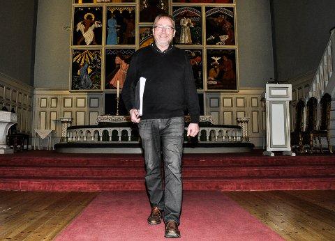 KJENT OG NYTT:Årets Kirkefestdager i Sandefjord var den 12. festivalen i rekken. Nå vil kunstnerisk leder Svein Rustad se på muligheten til å gå i nye retninger med kirkefestivalen som er blitt blant de største i landet.