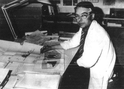 Arkitekt Odd Hage døde 5. mars 2021 – 85 år gammel. (Arkivbilde fra 1984)