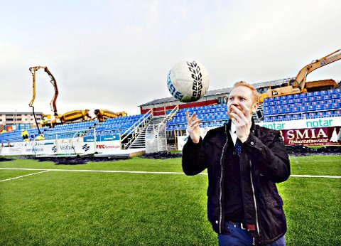 Kenneth André Leren er gjest i Radio Kristiansund fredag.
