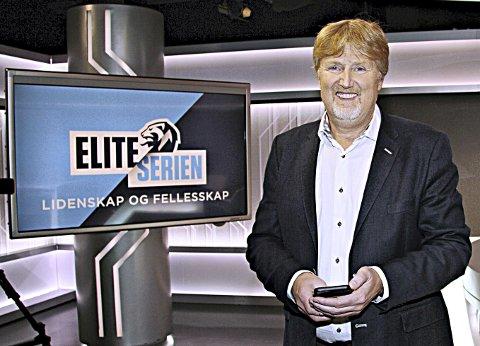 Gleder seg: Discovery-sjef Jan-Erik Aalbu gleder seg over at Kristiansund Ballklubb skal spille i eliteserien neste år.