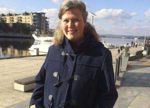FEIL: Venstres gruppeleder Suzy Haugan mener det var en feil avgjørelse å si nei til utredning av nøtterøykorridoren i april.