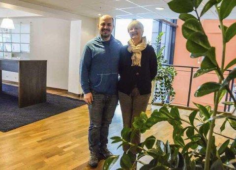 TIL TOPPS: Randi Fjellberg står på toppen av Miljøpartiets liste foran Færder-valget. John-Patrick Gudmundsen står som nummer to.