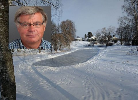 GROPA: Christian Foyn forteller at de som bor rundt parken kaller området for Gropa.