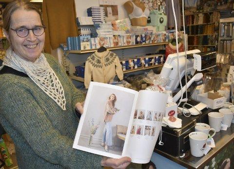 Fornøyd med året: Turid Hegland Ellefsen kan smile fornøyd for et godt år og 60-års jubileum i år. Foto: Anne Dehli