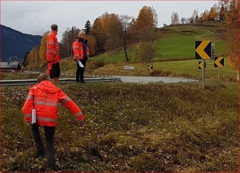 Snart utbedring: Det er klart for utbedring av den trafikkfarlige Reiessvingen i Vestre Slidre.