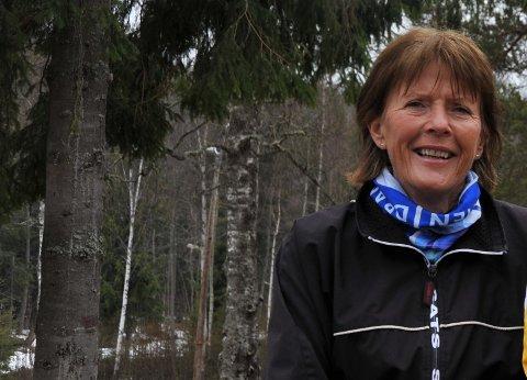 ILDSJELPRISEN: Anne Grete Aanmoen får ildsjelprisen for sitt engasjement i Nittedaljoggen, Onsdagsturene og NILs kunstutstilling.