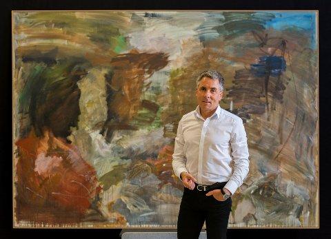 Etter en rask søknadsprosess begynte Nils Ohlsen i avdelingslederjobb på Nasjonalmuseet i februar 2010.