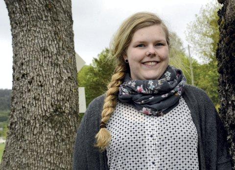 Søker: Kine Iselilja Gyldenskog ønsker å fortsette som daglig leder i Festspillene i Kristiansund,