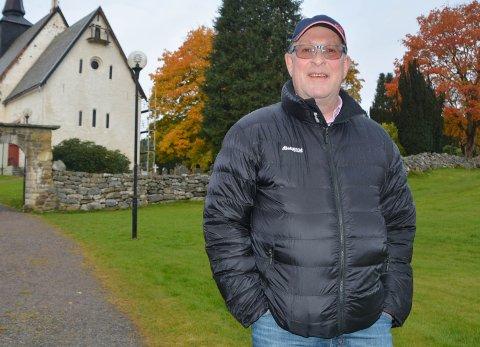 Daglig leder Finn Moe Stene i Sparebankstiftelsen Tingvoll.