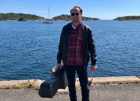 Engkvist ser frem til å fremføre viser fra «Du, jag & havet» i Bakgården på onsdag.