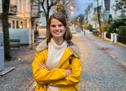 ANDREKANDIDAT: Lørdag ble Josefine Gjerde nominert til Miljøpartiet De Grønnes andrekandidat i Hordaland for neste års stortingsvalg. Aust-Agder Blad møtte politikeren hjemme på Møhlenpris i Bergen like etter det digitale nominasjonsmøtet.