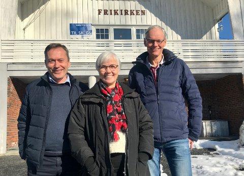 Det er med vemod de nå selger Frikirka på Akland, men Einar Johansen, Else Birgit Bergem Strand og Jan Erik Hellerdal er enige om at det er det eneste fornuftige.